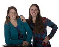 Sandra en Eveline